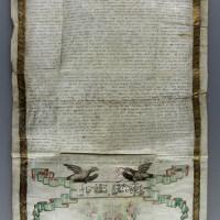 Testamentul egumenului Ioanichie, 1733
