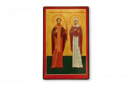 Sfantul Mucenic Montanus Preotul si sotia sa Maxima