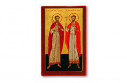 Sfintii Ioan Valahul si Iuliu Veteranul