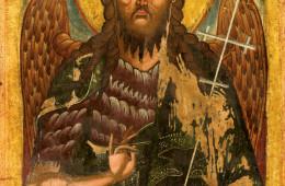 Sfantul Ioan Botezătorul cu aripi