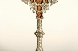 Cruce de masă (Răstignirea şi sfinţi/Maica Domnului între sfinţi)