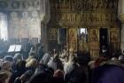 Imagine din timpul Sfintei Liturghii