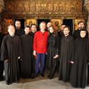 Andre Rieu in vizita la Manastirea Stavropoleos