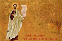 Hymns from the Service of Saint Martyr Justin the Philosopher
