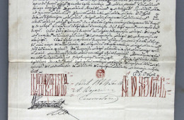 Chrysobull of Prince Grigore Ghica granting vinarici (the entitlement to levy tax on vineyard owners and wine producers), 1750