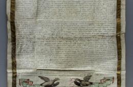 The Will of Egumen Ioanichie, 1733