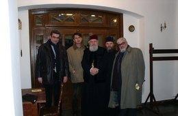 Metropolitan Anania, Andrei Plesu, Theodor Baconschi, H.R. Patapievici and Father Justin Marchis