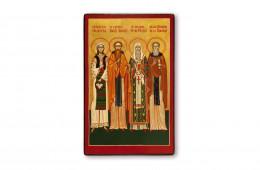 Staints Martyr Philothea of Arges, Venerable Daniilthe Hermit, Saint Hierarch Peter Mogila, VenerableNicodemus ofTismana