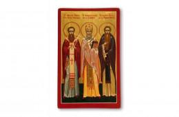 Hieromartyr Irineu, Bishop of Sirmium, Saint Calinic of Cernica, Venerable Basil of Poiana Mărului