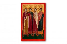 Saints Martyrs of Niculitel: Zoticos, Atalos, Camasis and Philipos
