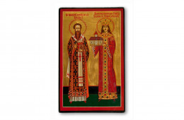 Leontie, Bishop of Rădăuti and Stephen the Great