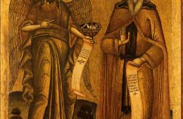 Saint John the Baptist and Saint Ioannikios