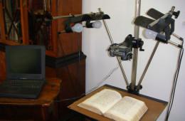 Digitizing old books