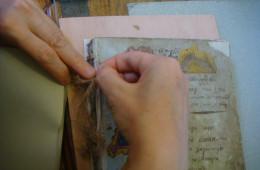 Reconstructing bookbinding (1)