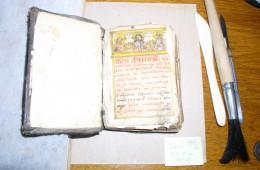 A manuscript to be restored