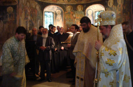 Divine service of Saint Justin, 2010 (2)