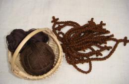 Basket of prayer ropes (1)