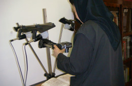 Photographing a manuscript (1)