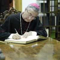 The visit of Archbishop Jean Louis Brugues