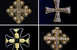 Crosses on the phelonion, the Great Lent