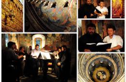 Repetitii in biserica pentru un concert in Polonia