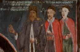 Tablou arhimandritul Ioanichie cu fratii sai