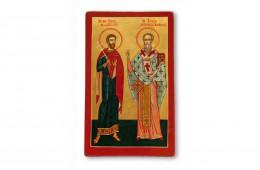 Sfantul Sava de la Buzau si Sfantul Teotim Episcopul Tomisului
