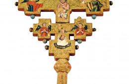 Cruce de steag (de procesiune): Răstignirea/Botezul Domnului