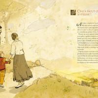 Pagina carte pentru copii despre Crez