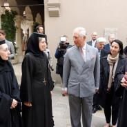 Printul Charles in vizita la Manastirea Stavropoleos