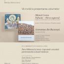 Lansare de carte la Biblioteca Sfantului Sinod