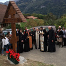 La hramul manastirii romanesti din Elvetia