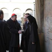 Vizita excelentei sale, Cardinalul Kurt Koch la Stavropoleos